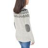 Fjällräven Övik - Sweat-shirt Femme - gris/blanc